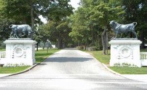 Colt State Park Entrance