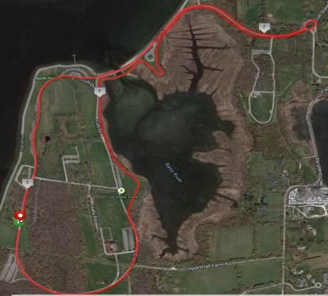 5K Route (MapMyRun)